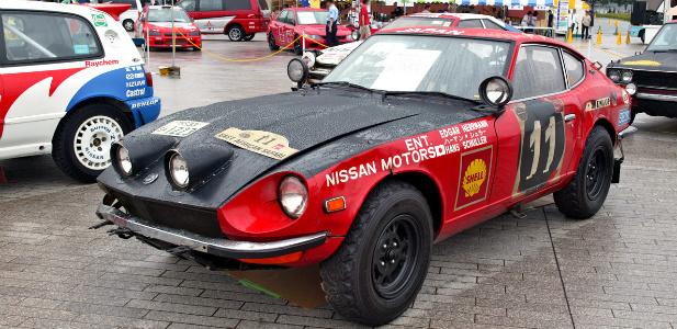wyścigowe coupe Datsun