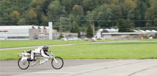 rekord prędkości na rowerze