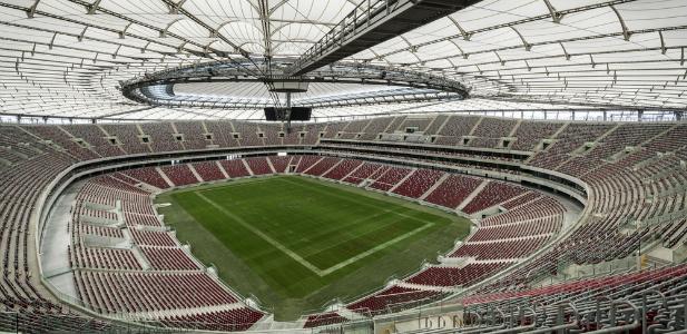 Stadion Narodowy wewnątrz