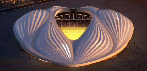 Stadion wyglądający jak wagina