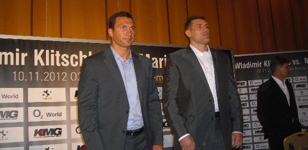 Władimir Kliczko i Mariusz Wach