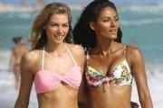 Gracie Carvalho i Jessica Hart w bikini