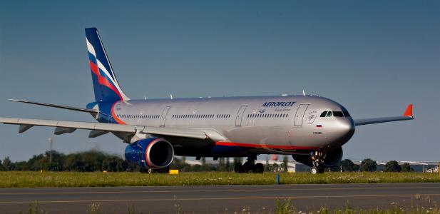 samolot rosyjskich linii lotniczych