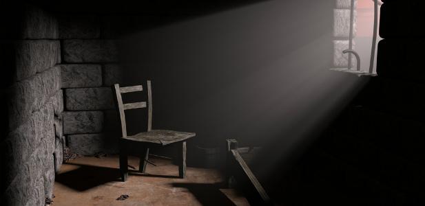 Kenijska więzienna cela