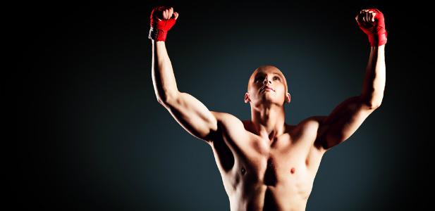 gest zwycięstwa MMA