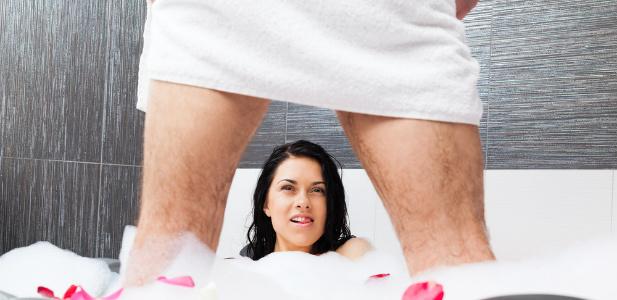 reakcja kobiety na widok penisa