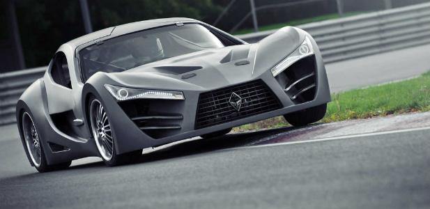 futurystyczne sportowe auto z Kanady