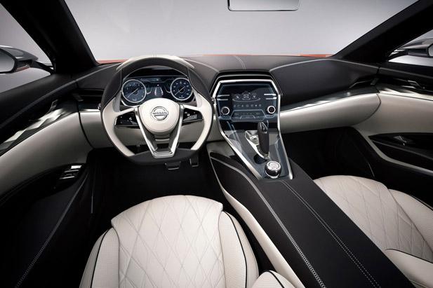 Nissan Sport Sedan Concept wnętrze