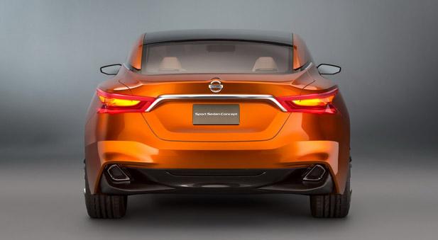 Nissan Sport Sedan Concept tył