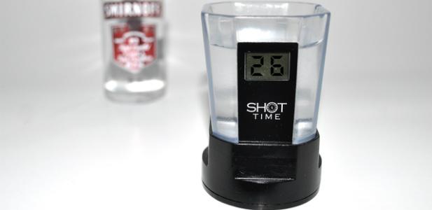 Kieliszek liczący ilość wypitego alkoholu