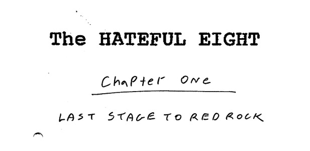 the hateful eight scenariusz
