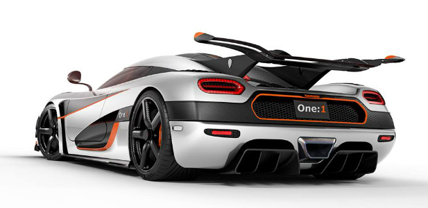 szwedzkie supersportowe auto