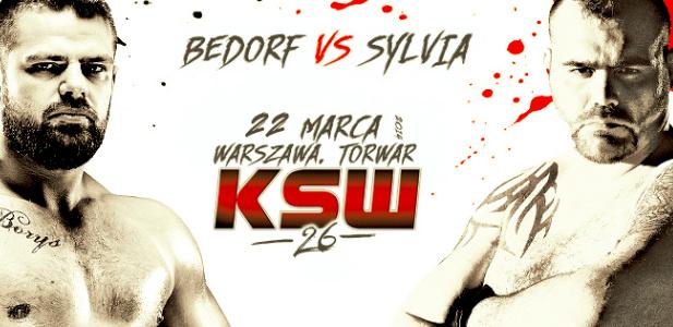 KSW 26 plakaty