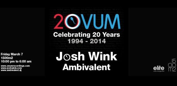 Josh Wink & Ambivalent w 1500m2