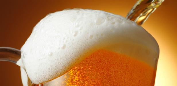 nalewane piwo