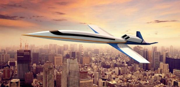 naddźwiękowy samolot dla bogatych