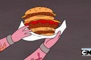 Hamburger 10 000 kilokalorii