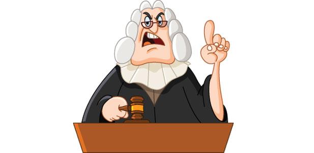 amerykański sędzia ikona