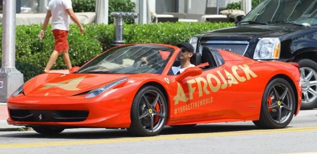 DJ Afrojack Ferrari