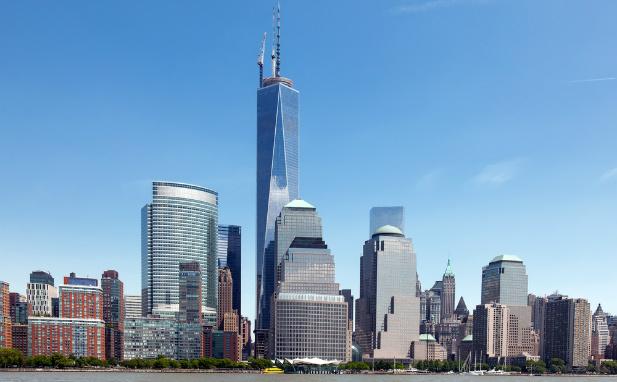 B.A.S.E jump Nowy Jork