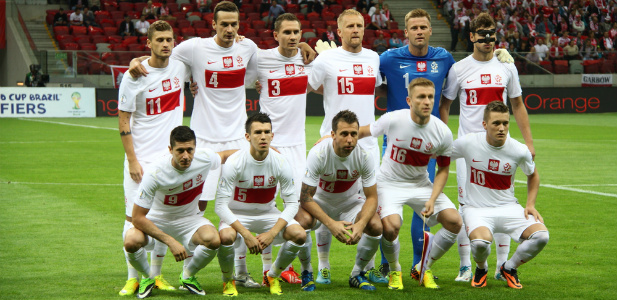drużyna Polski w piłce nożnej