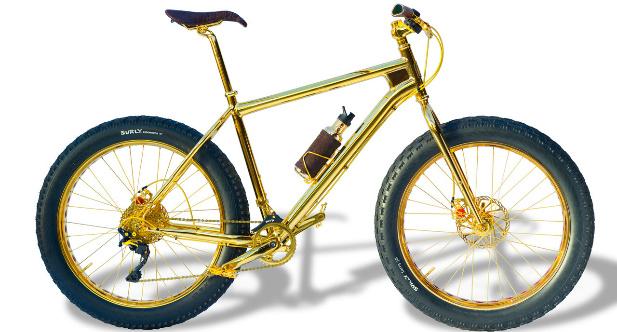 złoty rower do sprzedania