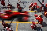 F1 Pit Stop 1950 vs 2013