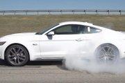 Ford Mustang sam pali gumę