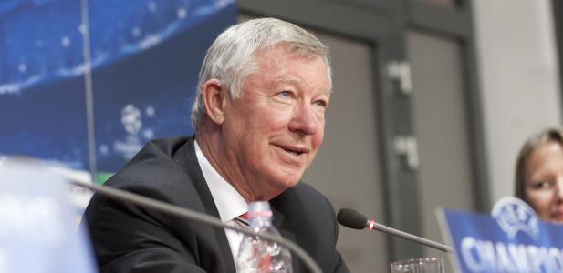 sir Alex Ferguson na konferencji prasowej