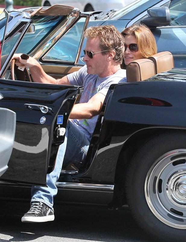Chevrolet Corvette Cindy Crawford