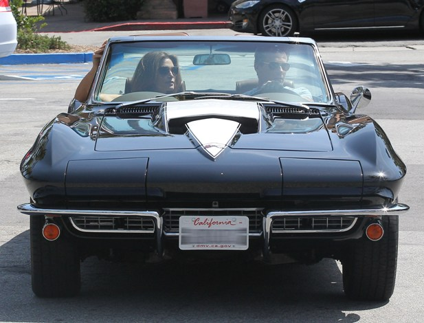 Chevrolet Corvette Cindy Crawford