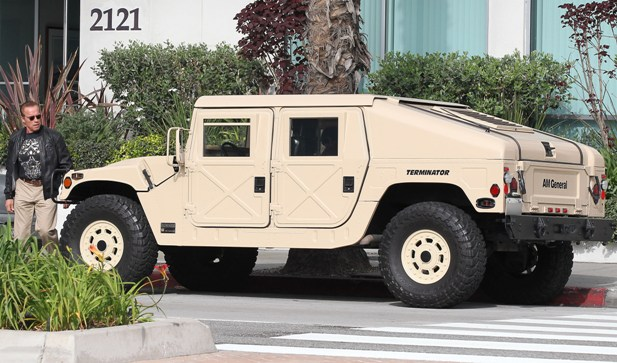 Hummer Terminator Arnolda Schwarzeneggera