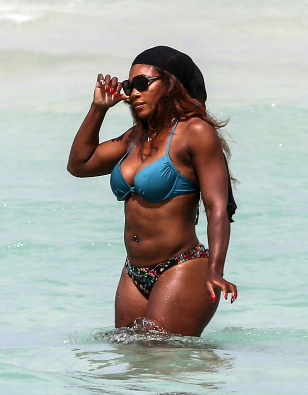 Serena Williams w bikini