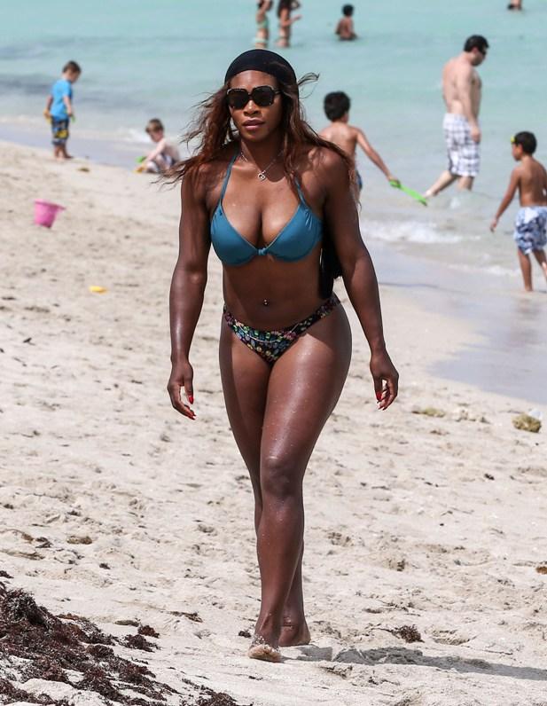 Serena Williams w bikini