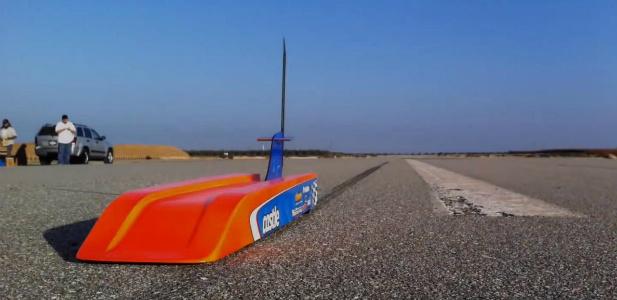 najszybszy zdalnie sterwoany samochód świata