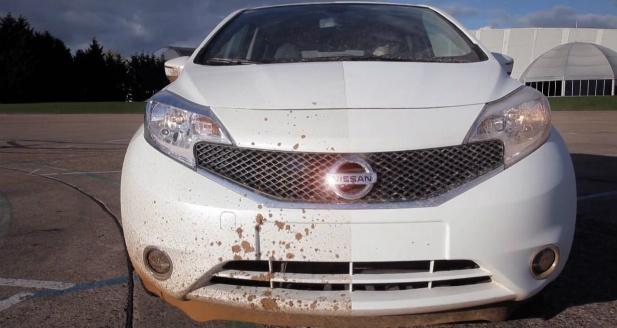 Samoczyszczące się auto
