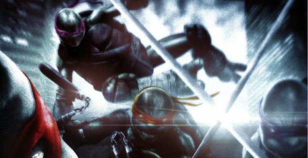 Wojownicze żółwie ninja plakat
