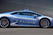Lamborghini Huracan w policji