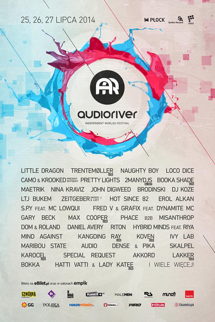 Audioriver 2014 plakat