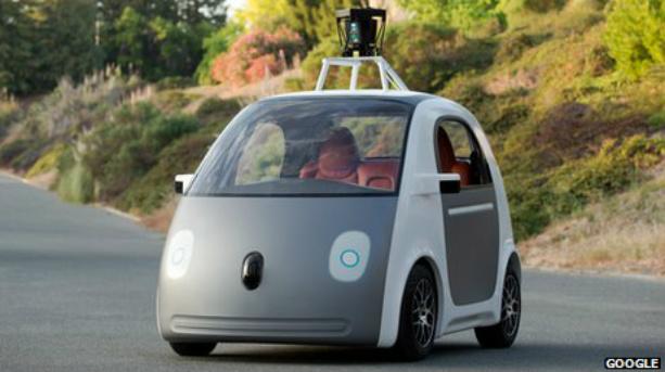 prototyo pojazdu od google