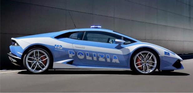 Lamborghini Huracan we włoskiej policji