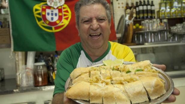 brazylijska kanapka na cześć Cristiano Ronaldo