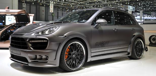 Porsche Cayenne po tuningu