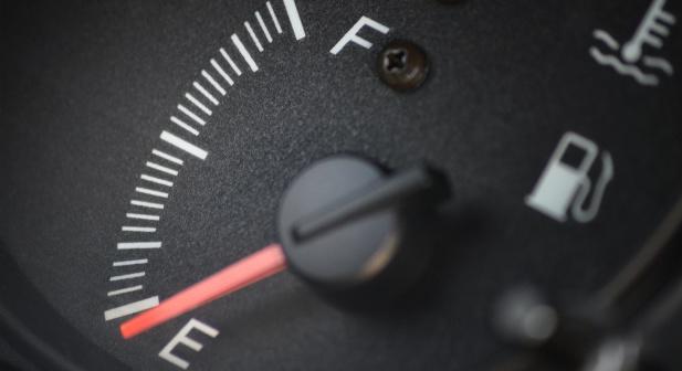 wskaźnik poziomu benzyny