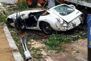 Rozbita Toyota za 3,5 mln zł