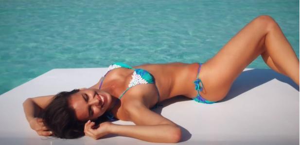 Irina Shayk Sports illustrated swimsuit 2014