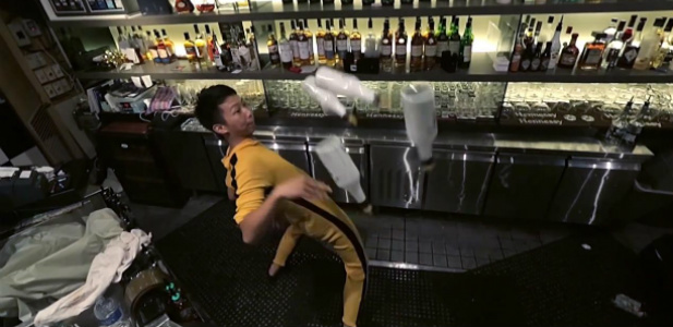Bruce Lee barmanem
