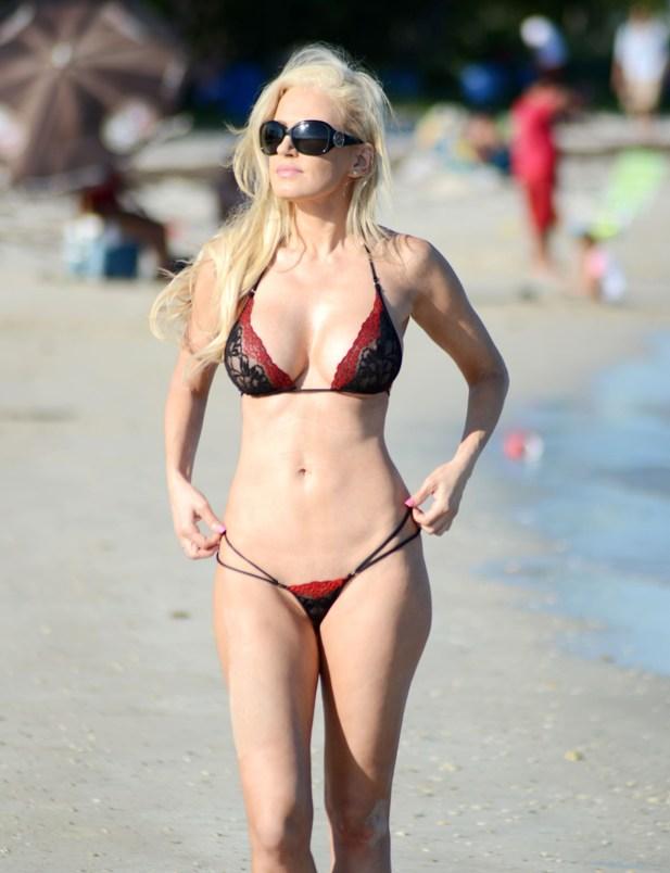 Ana Braga bikini 2014