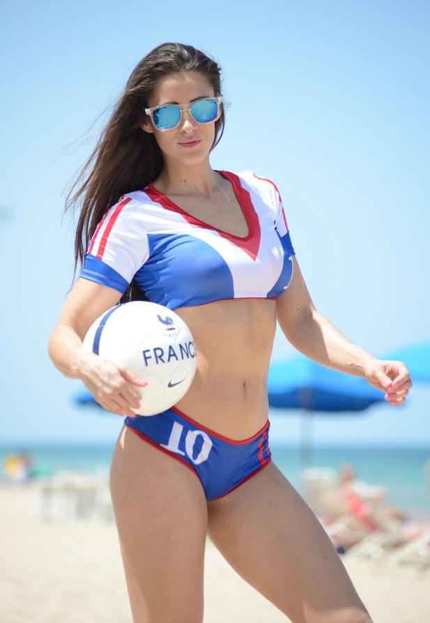 Anais Zanotti w koszulce Francji