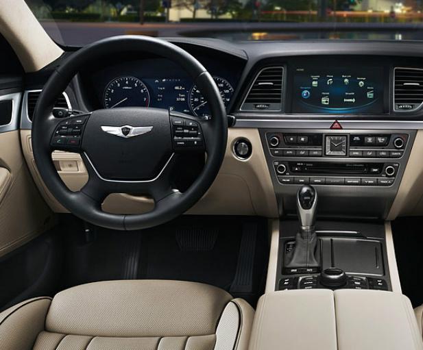Hyundai Genesis wnętrze